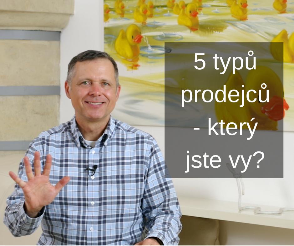 Foto 5 typů prodejců