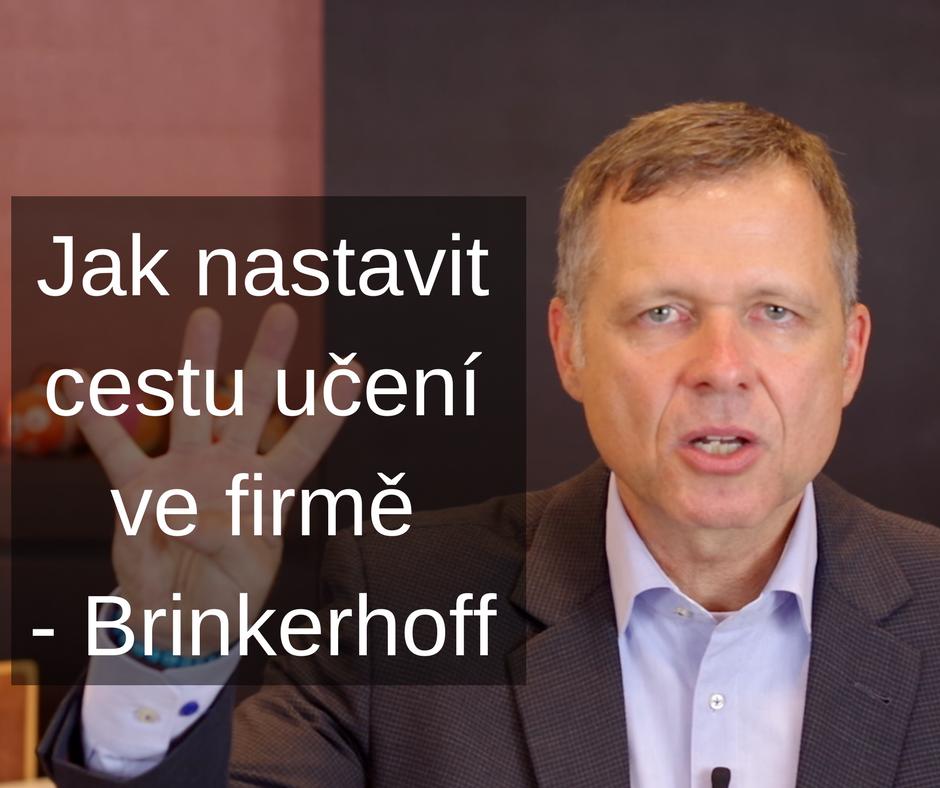 foto Jak nastavit cestu učení ve firmě - Brinkerhoff