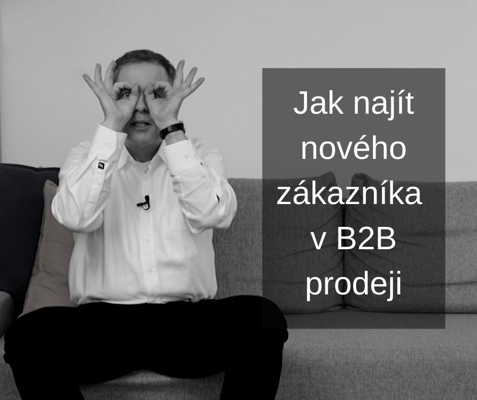 2- Jak najít nového zákazníka vB2B FCB BW