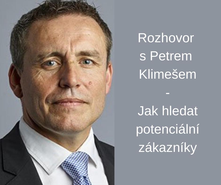 Petr Klimeš Jak hledat potenciální zákazníky B2B