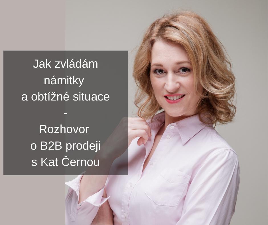 Námitky v B2B prodeji
