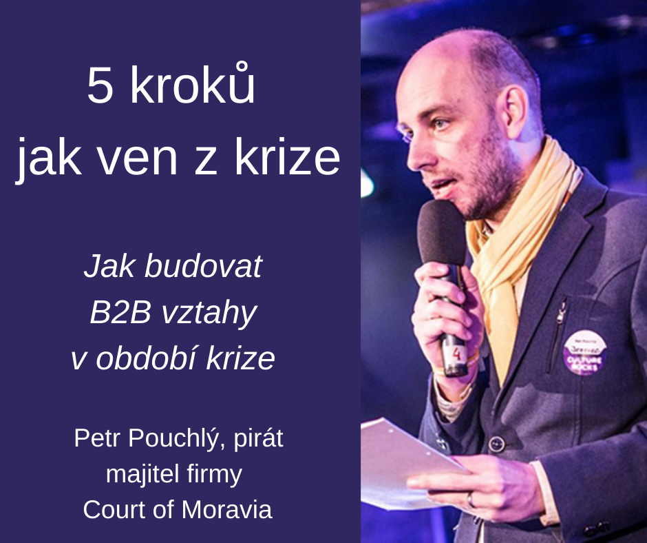 5 kroků jak ven z krize – Petr Pouchlý
