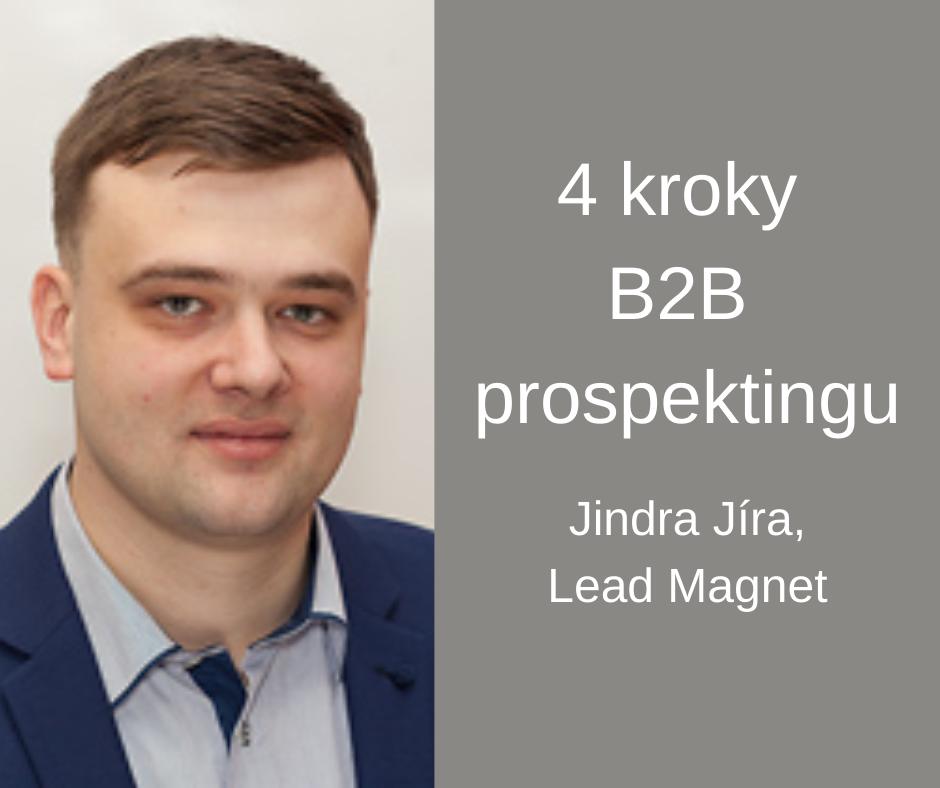 Jindra Jíra 4 kroky B2B prospektingu FCB 2