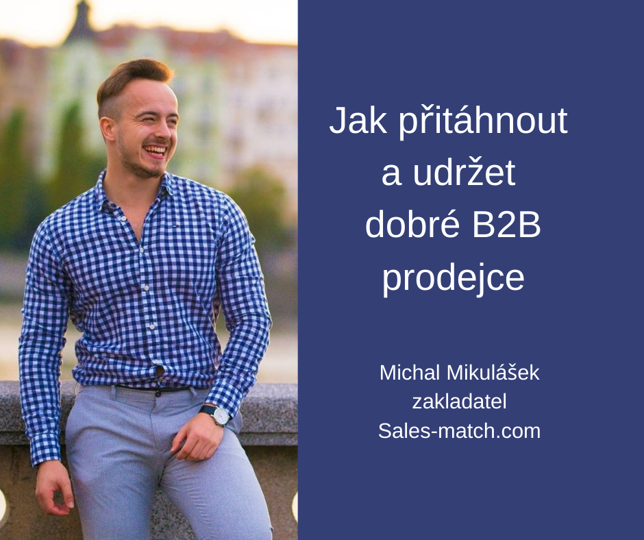 Michal Mikulášek B2B sales recruitment FCB