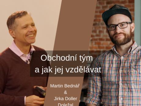 Jirka Doller Doležal podcast B2B prodejní trénink FCB