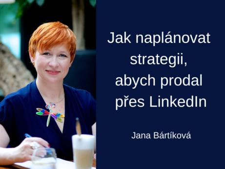 Jana Bártíková LinkedIn