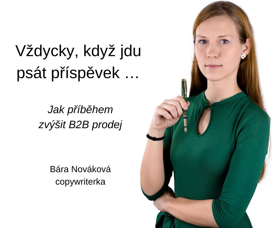 Bára Nováková Jak psát pro LinkedIn FCB